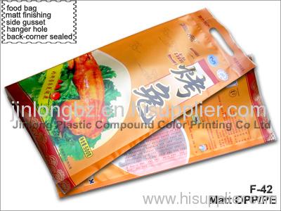plastic food packaging bag