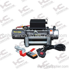 winch with remote control