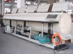 HDPE pipe extruding machine