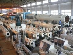 HDPE pipe process machine