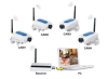 2.4GHz 4CH Wireless Digital Camera Security System CCTV Camera & Receiver