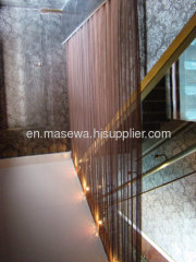 wire mesh as divider