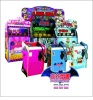 Coin operated arcades prize redemption lottery shooting game machine