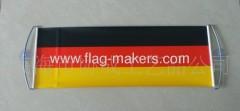 Custom Germany scrolling flag