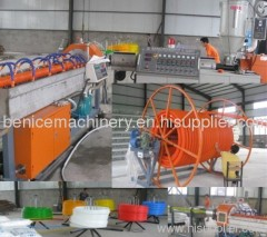 Corrugated Optic Duct cable communication pipe extrusion mac