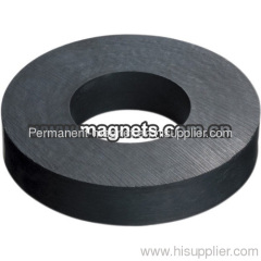 High Performance Permanent Ferrite Ring Magnet