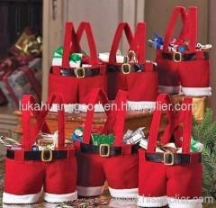 Christmas wedding candy bags