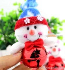 mini Christmas bells snowman