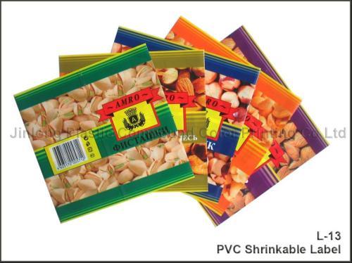 heat shrink film labels