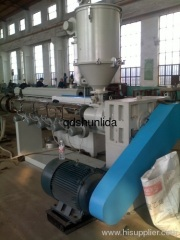 PP PE pipe extruder extrusion line