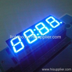 4 digit 7 segment led clock display; 4 digit clock display;