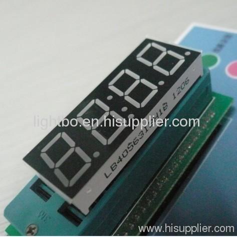 Ultra Blau gemeinsame Anode 4-stelligen 0,56 Zoll LED 7-Segment Uhranzeigen