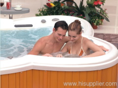 Whirlpool hot tubs in outdoor take easy