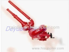 Double pipe fire monitor(SS150)