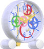 educational toys clock ,intellectual toys clock