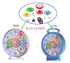 intellectual and educational toys clock ,DIY toys