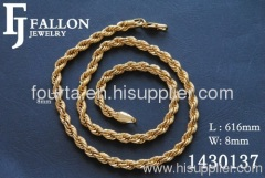 rope necklace design for mens