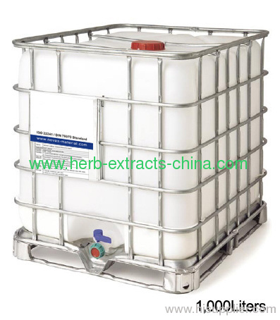 1000 liters IBC tank packaging of pomegranate seed oil 70%