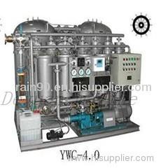 YWC 0.25 marine 15ppm Bilge Separator