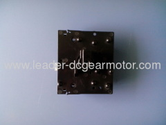 Rated speed gear motor