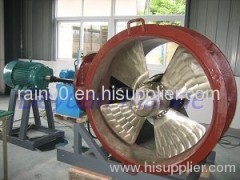 controllable pitched tunnel thruster