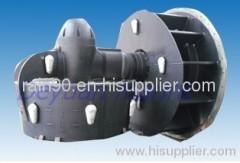 Marine rudder propeller
