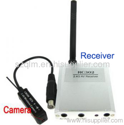 24GHz Mini Wireless Camera From China Manufacturer