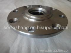 Stainless steel precision casting flange casting rough machining flange casting process