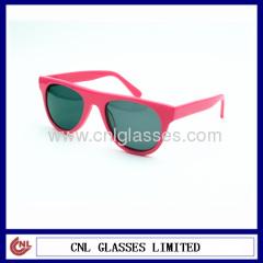 nice pink hand made girls acetate sunglasses