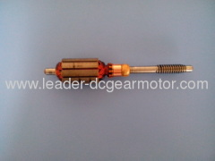 100% electric copper wire Dc motor armature