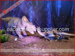 silicone rubber dinosaur model