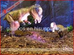 Life size dinosaur