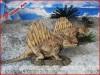 Theme park animatronic robotic dinosaur