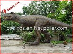 outdoor t-rex animatronic dinosaur