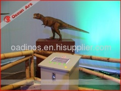 Popular animatronic dinosaur equipment