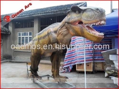 Large size animatronic dinosaur