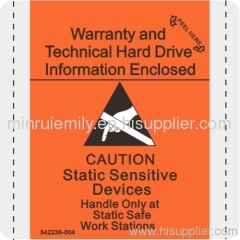 Custom ESD Labels,Custom warnig label,Custom safe labels