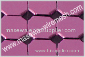 metal mesh for decorative metallic drapery