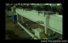 PVC-ABS water supply pipe production line