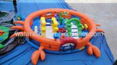 inflatable toddler games for kids crab cake