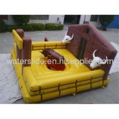 sell inflatable bull game bull rodeo mechine