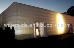 Inflatable Cube Buildings