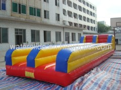 Bungee run game inflatable