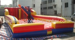 Bungee run and Pedestal joust