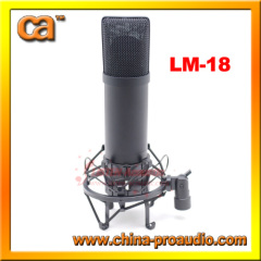 USB mini socket recording microphone wired