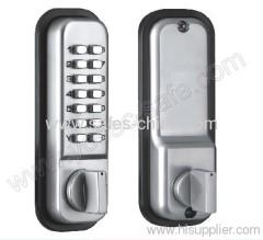 digital mechanical code lock/ deadbolt locks