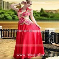 Red Color The East Exotic Bridal Wedding Dress 2014