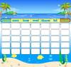 refrigeratory magnet calendar