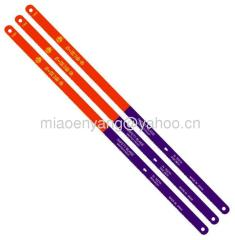 Bimetal hacksaw blades