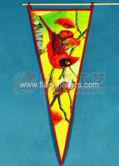 Custom Cardinal Pennant banner